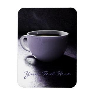 Azules del café imanes flexibles