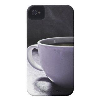 Azules del café iPhone 4 Case-Mate coberturas