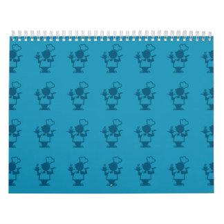azules del cocinero calendarios
