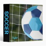 Azules del cuaderno con la red