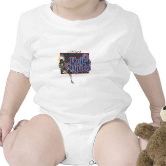 Azules del delta trajes de bebé