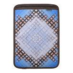 Azules del diamante funda macbook air