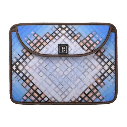 Azules del diamante funda para macbook pro