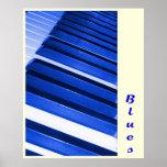 Azules del piano posters