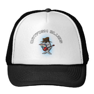 Azules del siluro gorra
