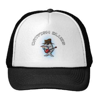 Azules del siluro gorras