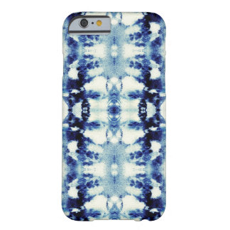 Azules del teñido anudado funda de iPhone 6 barely there