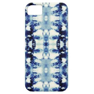Azules del teñido anudado iPhone 5 protectores