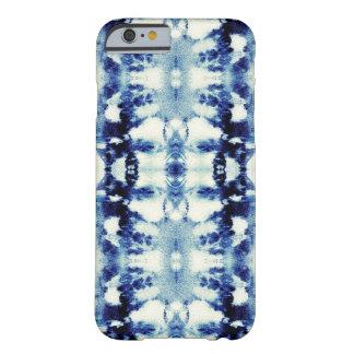 Azules del teñido anudado funda para iPhone 6 barely there