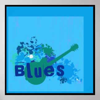 Azules en el poster de los azules
