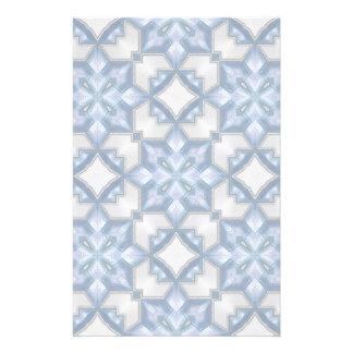 Azules escarchados papeleria personalizada