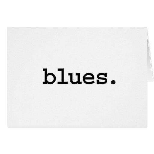 azules felicitaciones