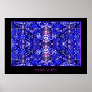 Azules hipnóticos póster