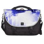 Azules hivernales bolsas de portatil