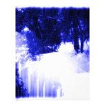 Azules hivernales membretes personalizados