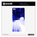 Azules hivernales skins para eliPhone 4
