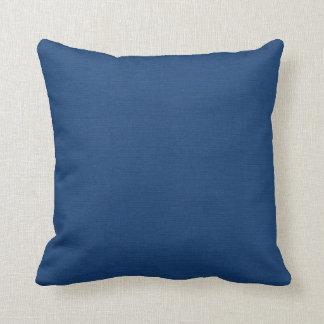 Azules marinos cojín