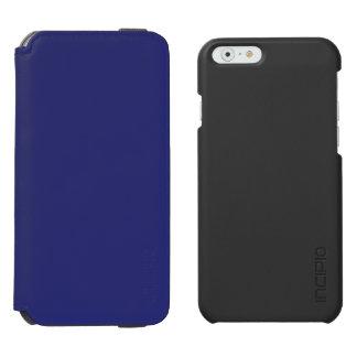 Azules marinos funda billetera para iPhone 6 watson
