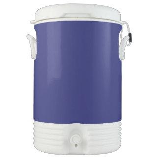 Azules marinos enfriador de bebida igloo