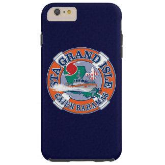 Azules marinos magníficos de Luisiana de la isla Funda Para iPhone 6 Plus Tough