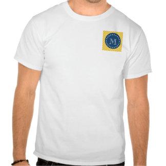 Azules marinos modelo amarillo el de Chevron su Camisetas