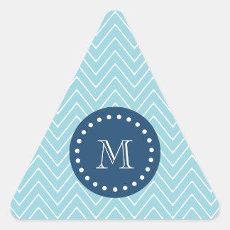 Azules marinos, modelo azul el | de Chevron su Calcomania Triangulo