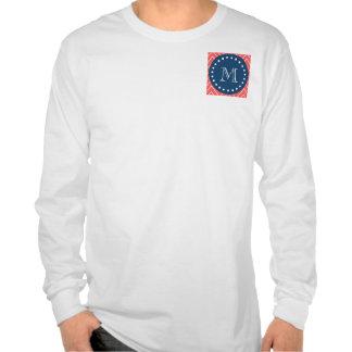 Azules marinos modelo coralino el de Chevron su Camiseta