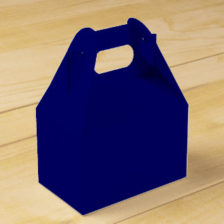 Azules marinos oscuros adaptables paquetes de regalo