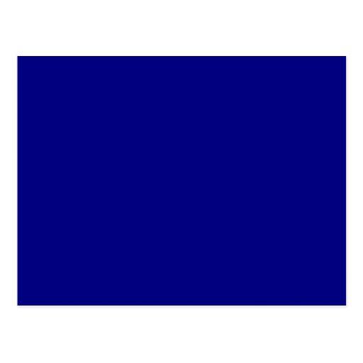 Azules marinos tarjeta postal