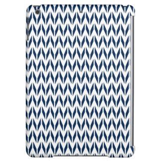 Azules marinos y blanco Chevron