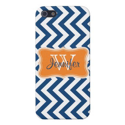 Azules marinos y iPhone personalizado de moda anar iPhone 5 Cárcasa