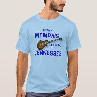 Azules Memphis Playera