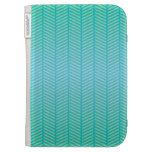 Azules turquesas de la raspa de arenque