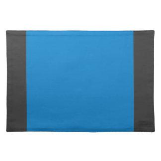 Azules turquesas Placemat Mantel