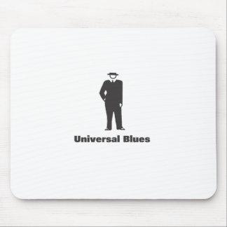 Azules universales alfombrilla de ratones