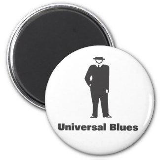Azules universales imán redondo 5 cm