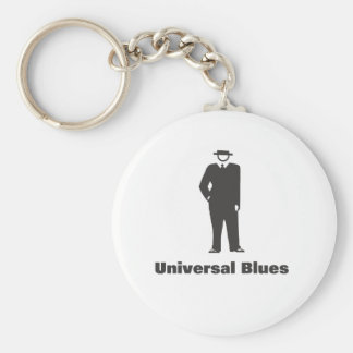 Azules universales llavero redondo tipo pin