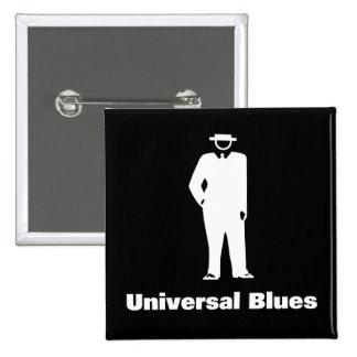Azules universales pin cuadrado