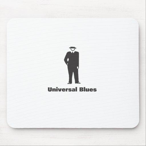 Azules universales tapetes de raton
