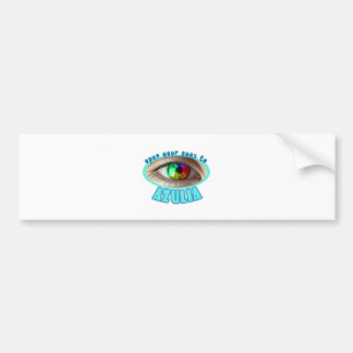 Azulia Rainbow Eye Bumper Sticker