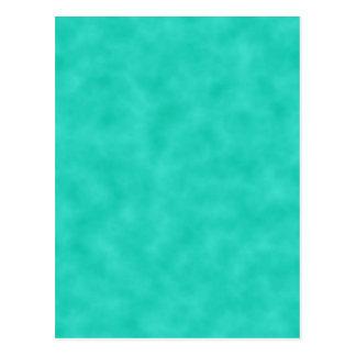 Azulverde de la turquesa Marbleized Postales
