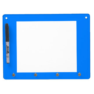 Azur Classic Quality Colored Dry Erase Board With Keychain Holder