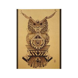 Azura Golden Delicious Owl Poster