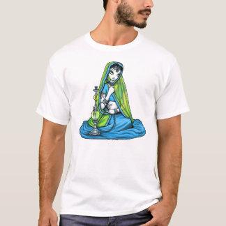 """Azura"" Hindi Flower Sari Princess Faerie Shirt"