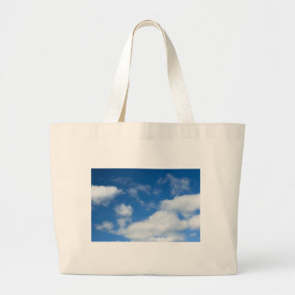 Azure and Clouds Canvas Bags