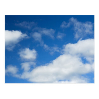 Azure and Clouds Postcard
