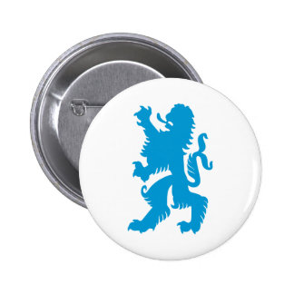 Azure Bavarian Lion Button