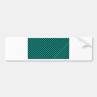 azure black pattern.jpg bumper sticker