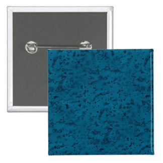 Azure Blue Cork Look Wood Grain Button