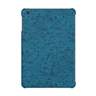 Azure Blue Cork Look Wood Grain iPad Mini Case